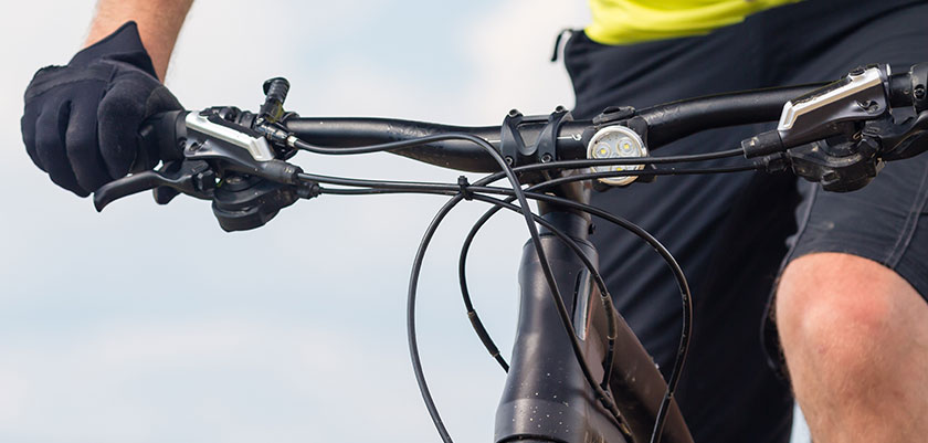 Bromssystem cykel hydraliska