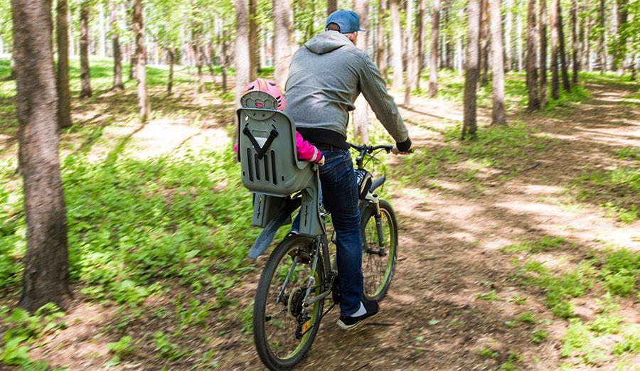Säker cykelsits