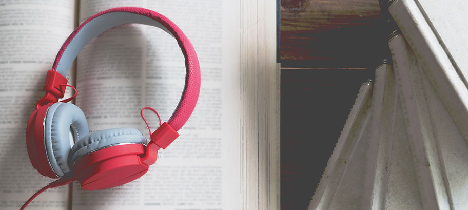 Ljudböcker - en perfekt sommarsyssla